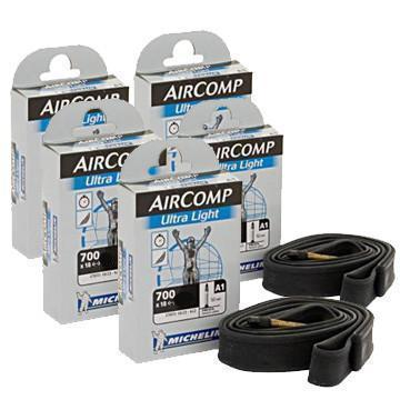 Michelin Components > Inner Tubes Michelin A1 AirComp Ultralight Pack Of 5 Innertubes
