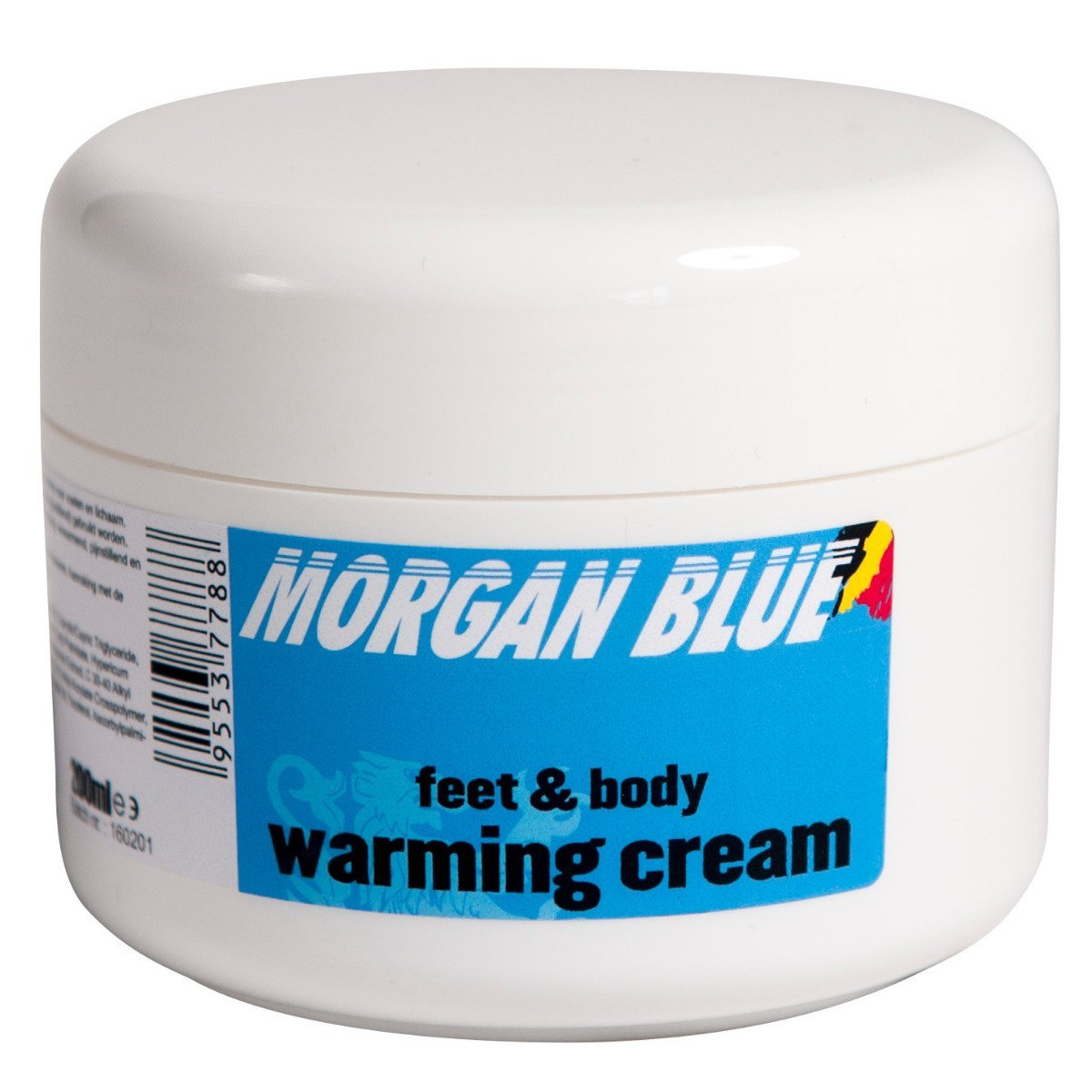 Morgan Blue Cycle Clothing > Embrocation & Cream MORGAN BLUE WARMING CREAM 200cc TUB