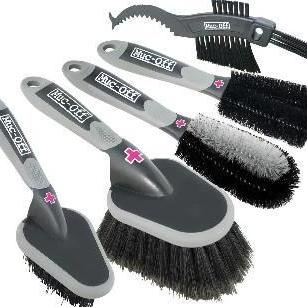 Muc-Off Accessories > Bike Cleaner Muc-Off 5 Piece Brush set