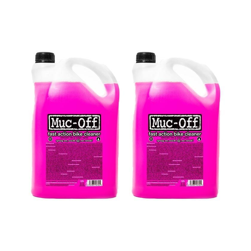 Muc-Off Accessories > Bike Cleaner Muc-Off Nano Tech Bike Cleaner 2 x 5 Litre