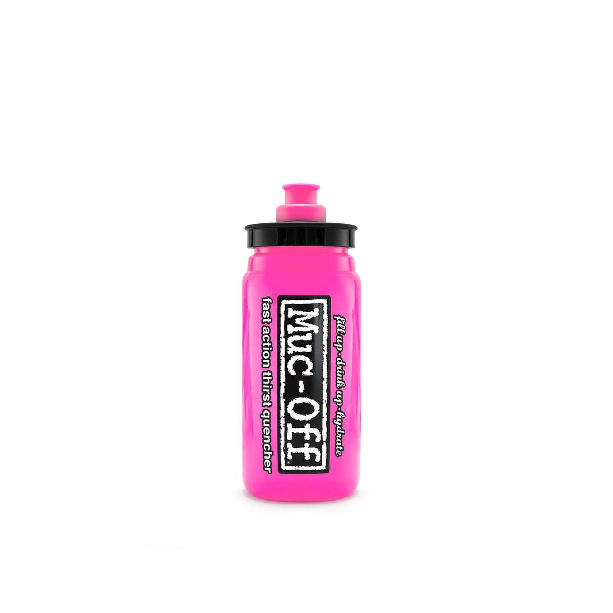 Muc-Off Accessories > Bottles Pink Muc-Off X ELITE FLY WATER BOTTLE - 550ML