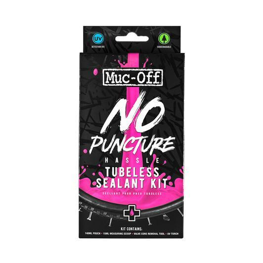 Muc-Off Components > Inner Tubes Muc-Off No Puncture Hassle Kit 140ml