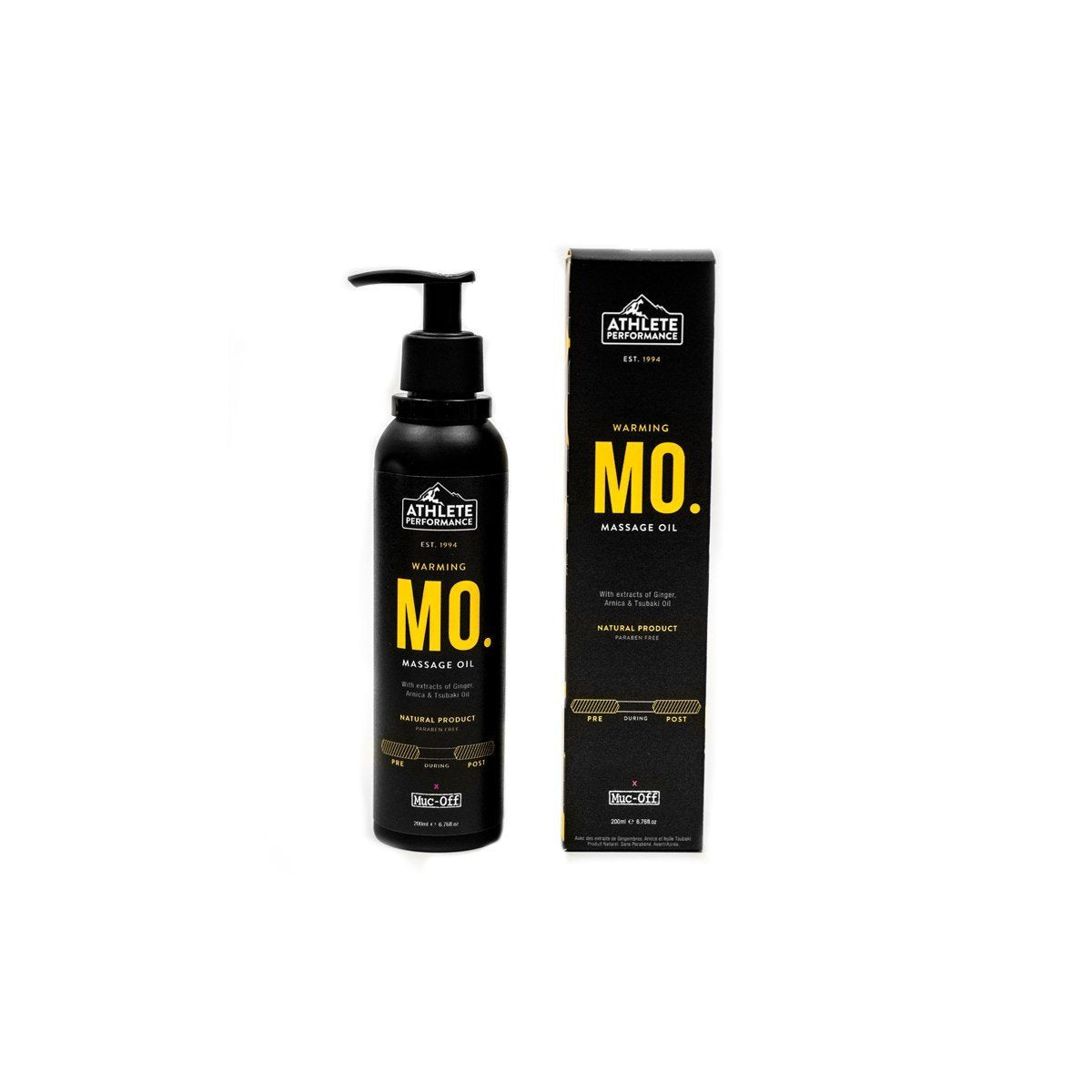 Muc-Off Cycle Clothing > Embrocation & Cream MUC-OFF ATHLETE PERFORMANCE - MASSAGE OIL