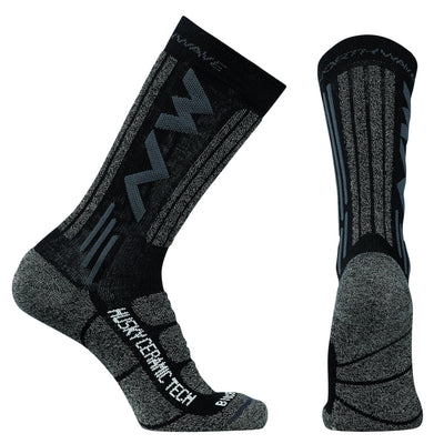 Northwave Cycle Clothing > Socks Black / Small Northwave Husky Ceramic Tech 2 High Socks