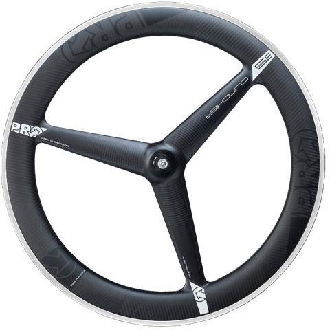 Pro Components > Hand Built Wheels Pro 3 Spoke 3K Carbon Wheel with Ultegra Hub