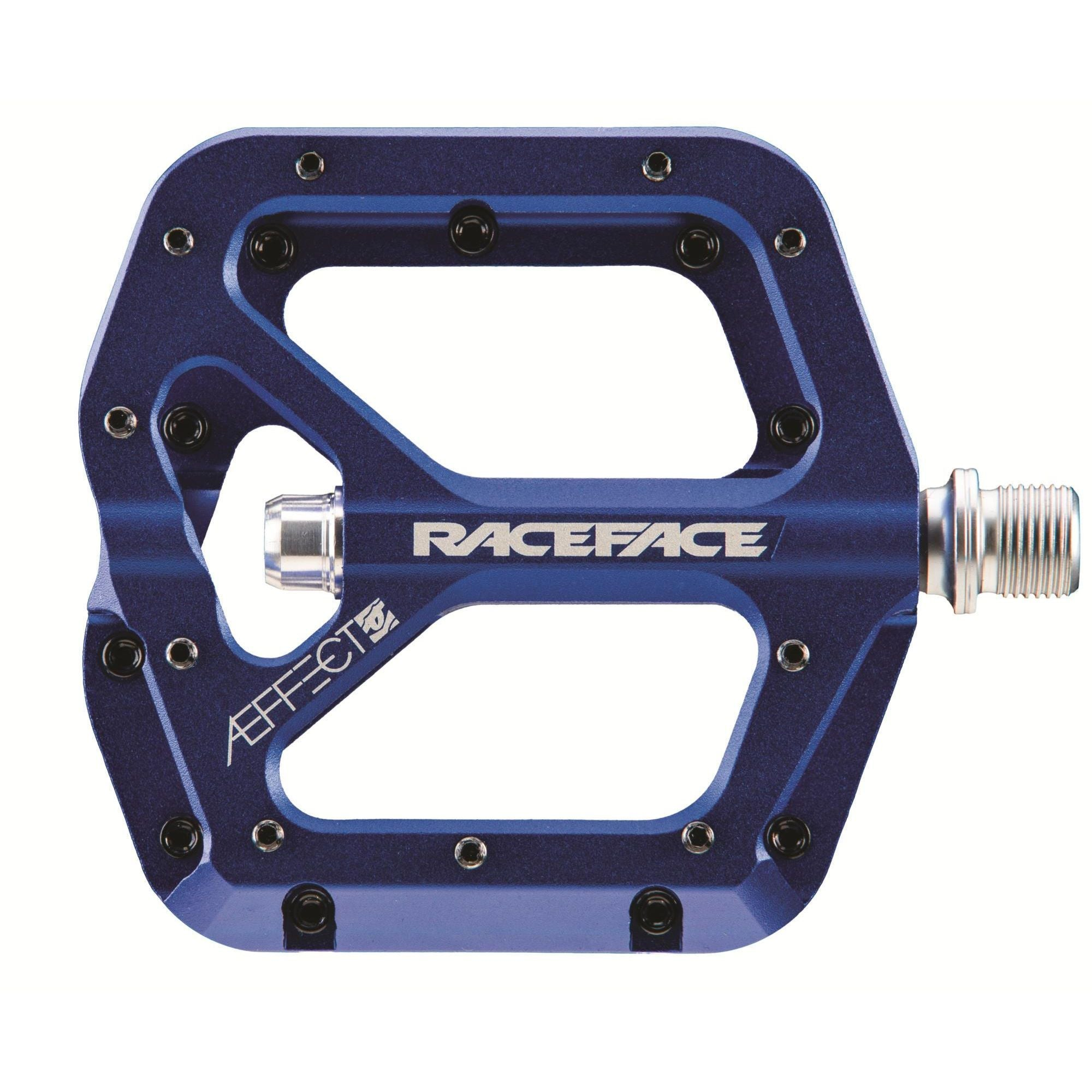 Race Face Components > Pedals & Pedal Cleats Blue Race Face Aeffect Pedal