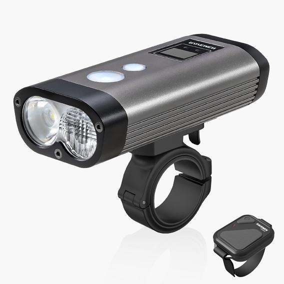 Ravemen Accessories > Lights & Reflectives Ravemen PR1600 USB Rechargeable DuaLens Front Light with Remote 1600 Lumens