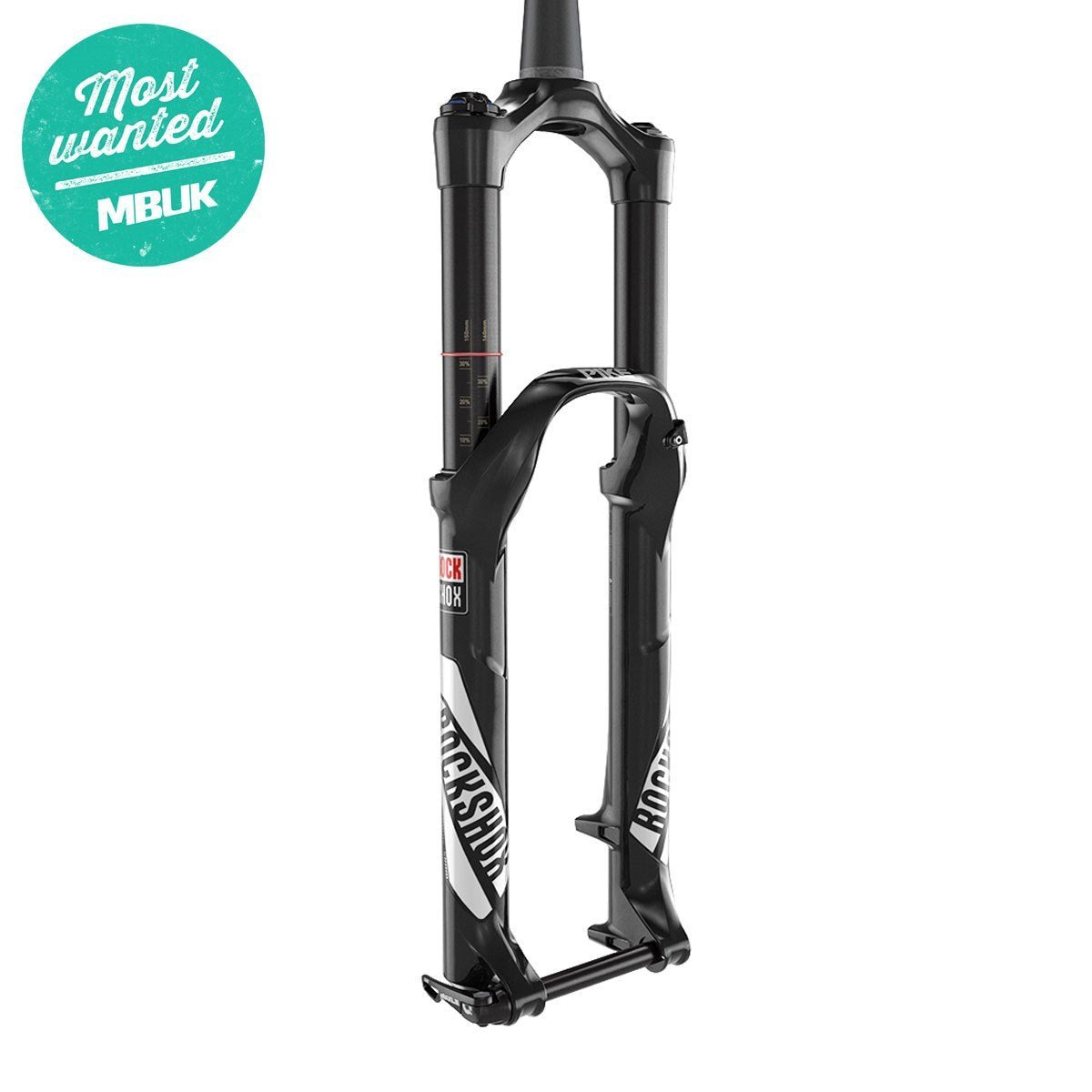 "Rockshox Components > Suspension 130 Rockshox PIKE RCT3 - 27.5"" MAXLELITE15 SOLO AIR 150 DIFFUSION BLACK CROWN ADJ ALUM STR TPR DISC"