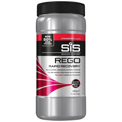 Science in Sport Nutrition > Energy Drink Strawberry SIS Rego Rapid Recovery 500g Tub