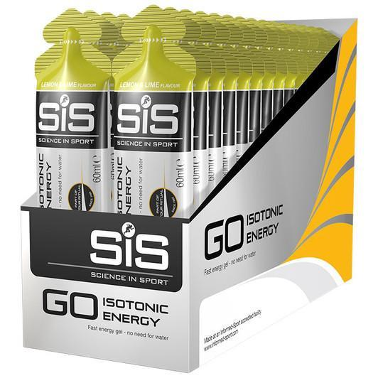Science in Sport Nutrition > Energy Food Lemon & Lime Science in Sport Go Isotonic Gels - Box of 30