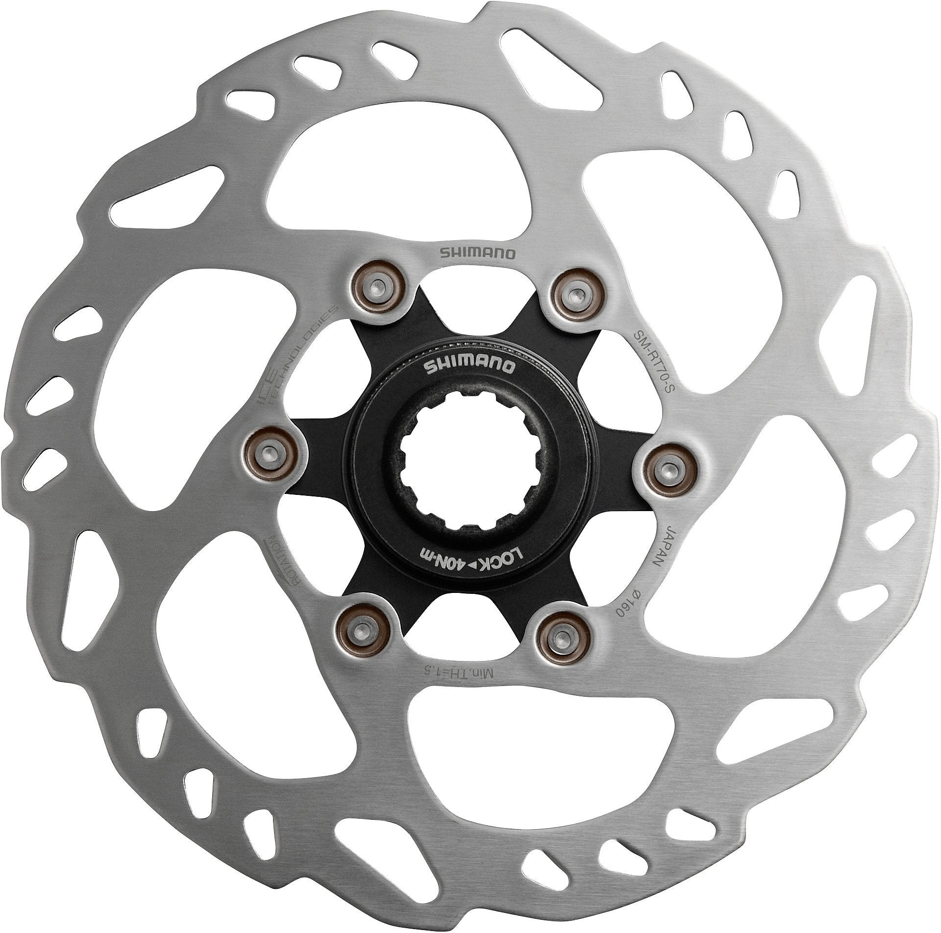 Shimano Components > Brakes & Chainsets Shimano SM-RT70 Ice Tech Centre-Lock disc rotor