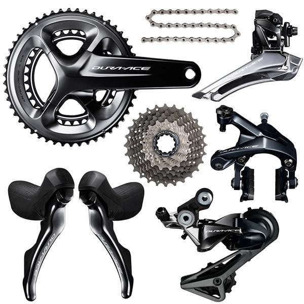Shimano Components > Groupsets Shimano Dura Ace R9100 11 Speed Groupset