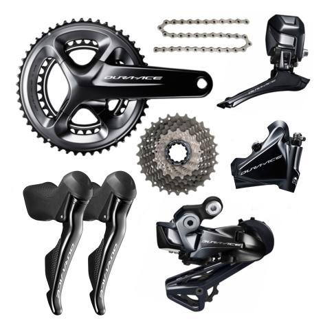 Shimano Components > Groupsets Shimano Dura Ace R9170 Disc Di2 Groupset