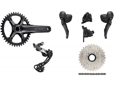 Shimano Components > Groupsets Shimano GRX RX600 1 x 11 Groupset