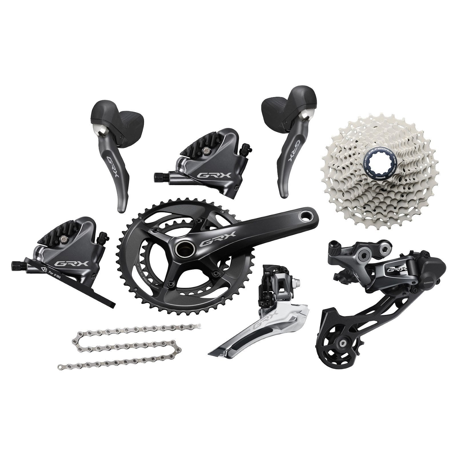 Shimano Components > Groupsets Shimano GRX RX800 2 x 11 Groupset