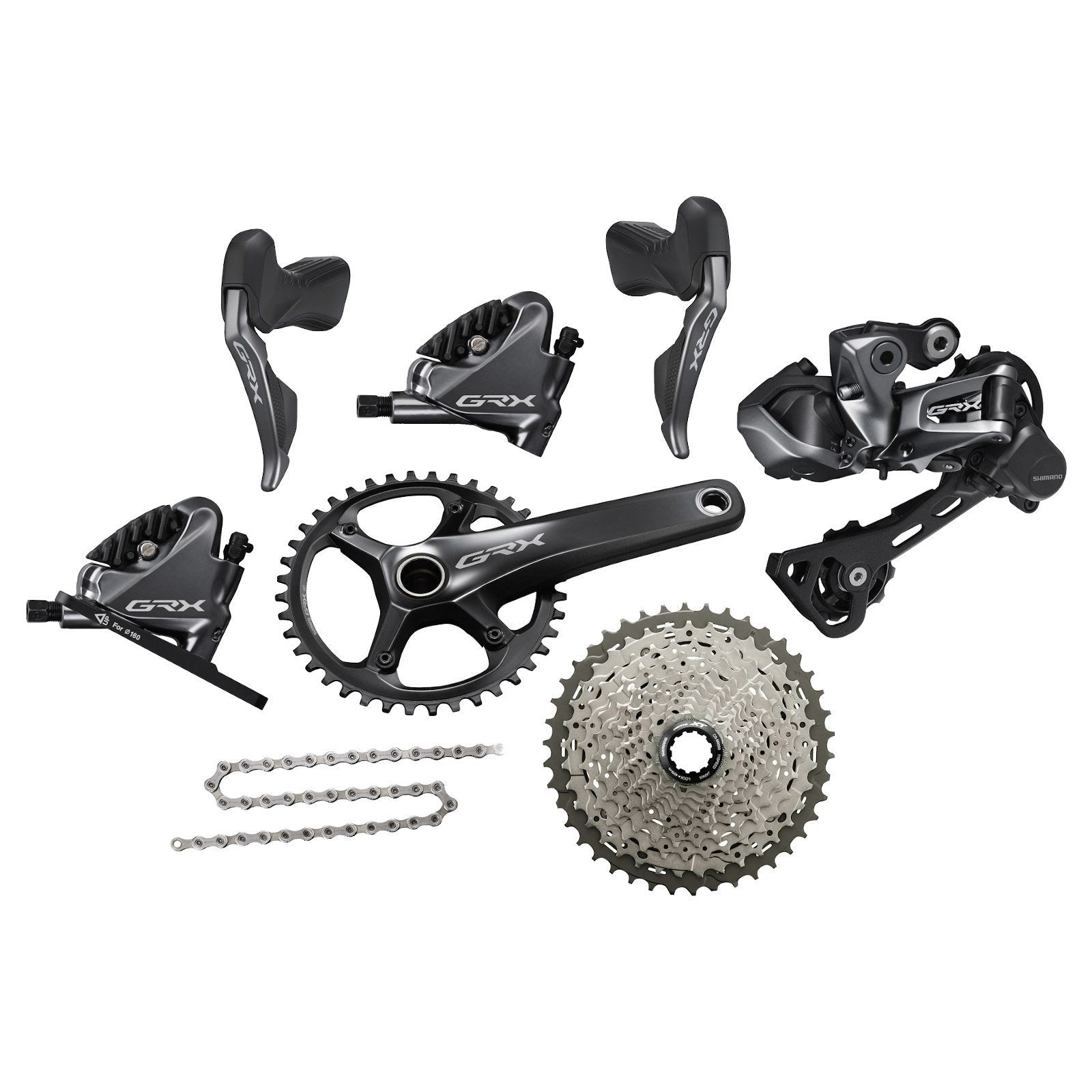 Shimano Components > Groupsets Shimano GRX RX815 Di2 1 x 11 Groupset