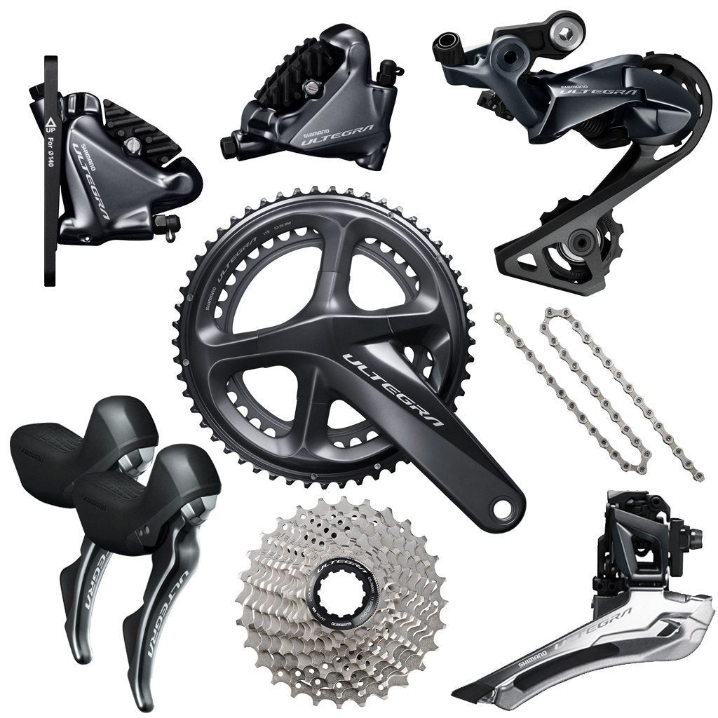 Shimano Components > Groupsets Shimano Ultegra Disc R8020 Groupset