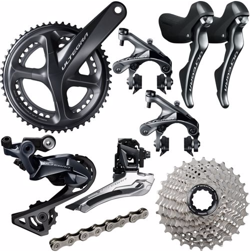 Shimano Components > Groupsets Shimano Ultegra R8000 11 Speed Groupset