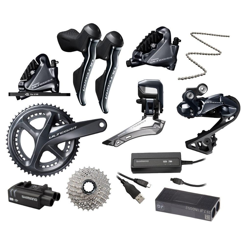Shimano Components > Groupsets Shimano Ultegra R8070 Di2 Disc Groupset