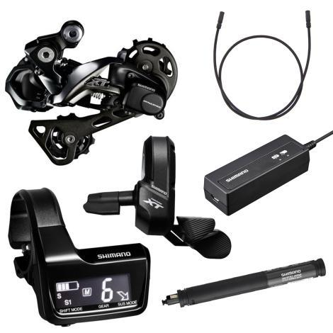 Shimano Components > Groupsets Shimano XT Di2 1 x 11 Shifting Kit M8050