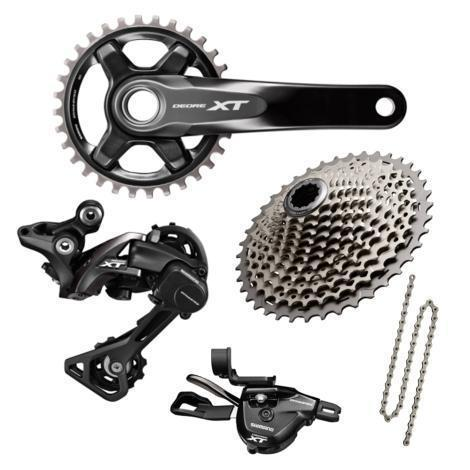 Shimano Components > Groupsets Shimano XT M8000 1 x 11 Boost Transmission Groupset
