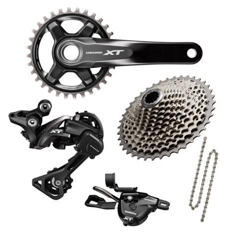 Shimano Components > Groupsets Shimano XT M8000 1 x 11 Transmission Groupset