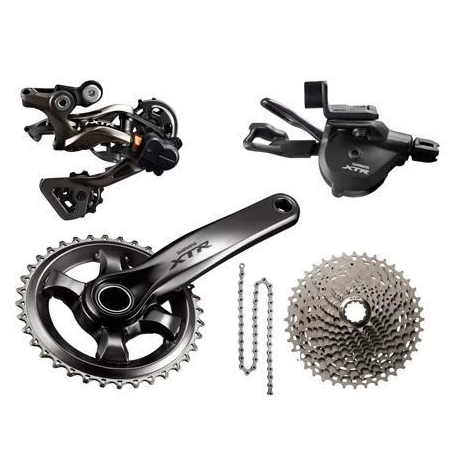 Shimano Components > Groupsets Shimano XTR 1x11 Race Drivetrain Groupset