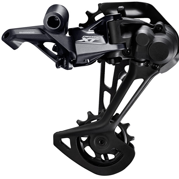 Shimano gears Shimano RD-M8100 XT 12-speed rear derailleur, Shadow+, SGS, for single