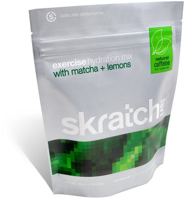 Skratch Labs Nutrition > Energy Drink Matcha & Lemons Skratch Labs Exercise Hydration Mix 454gms