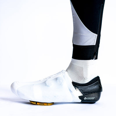 spatwear Cycle Clothing > Overshoes S/M 37-42 / White SPATZ 'Toez' Silicone Toe Warmers