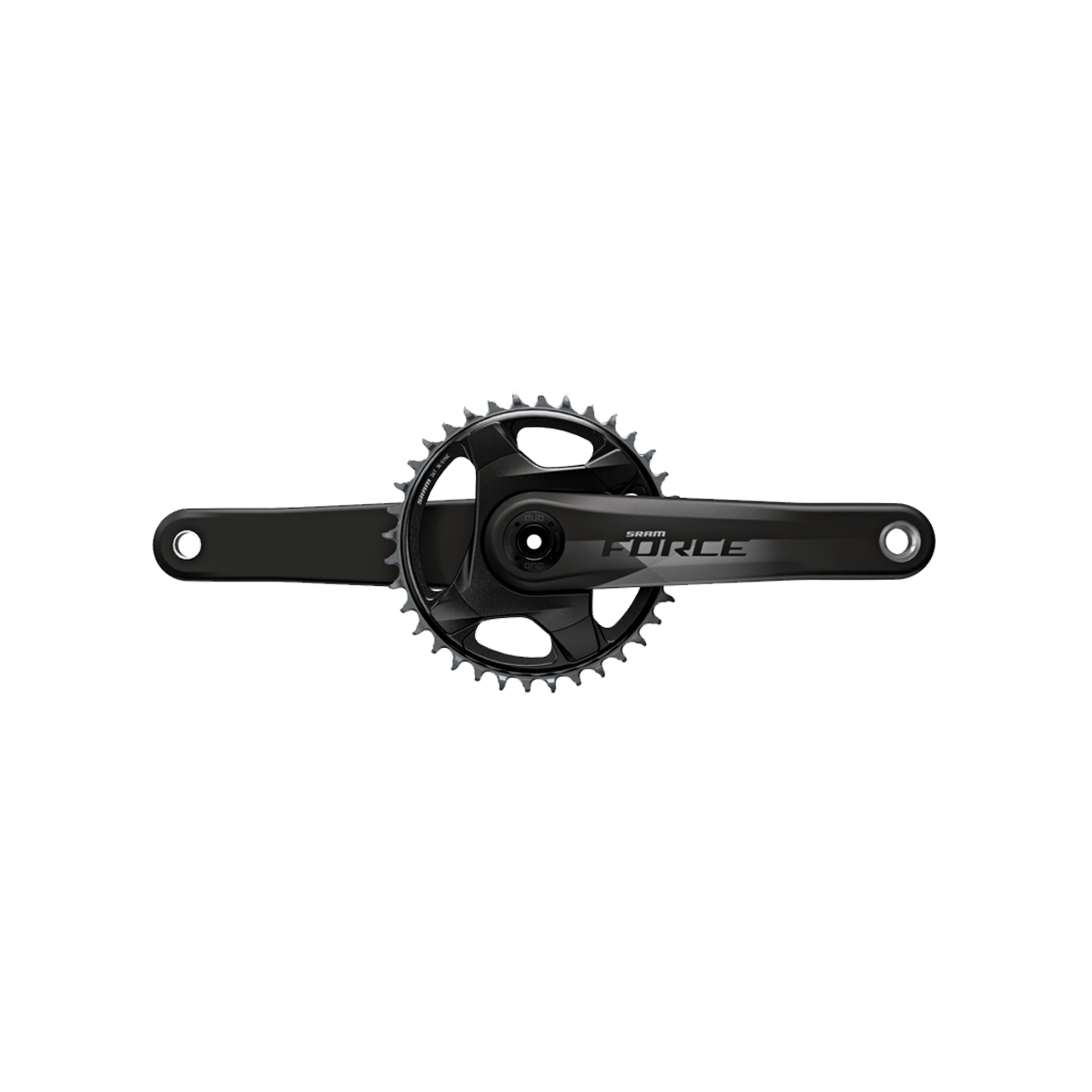 SRAM Components > Brakes & Chainsets 170 / 46 SRAM FORCE 1X D1 DUB CRANKSET (BB NOT INCLUDED)