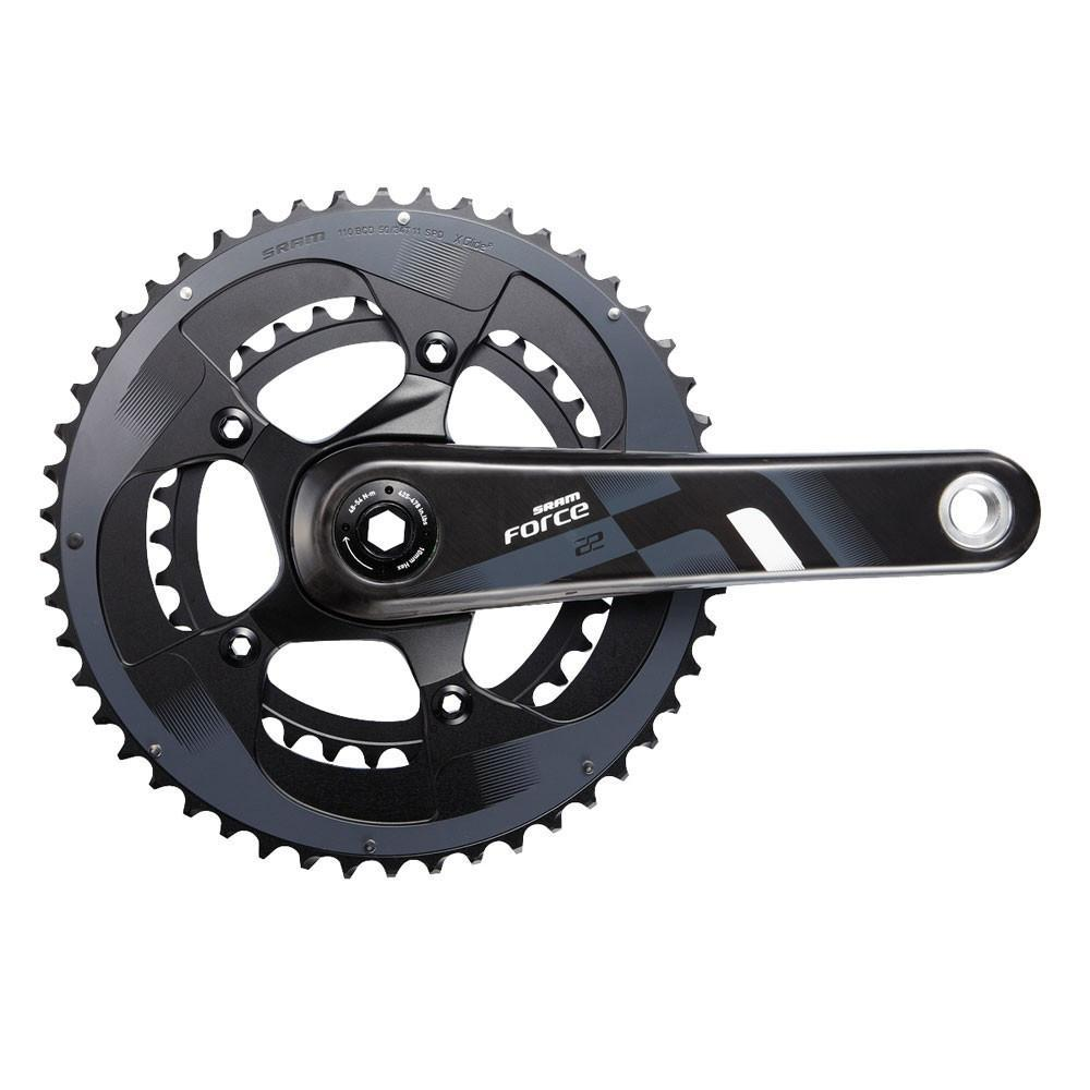 SRAM Components > Brakes & Chainsets SRAM Force22 Crank Set BB30 - Bearings Not Inc