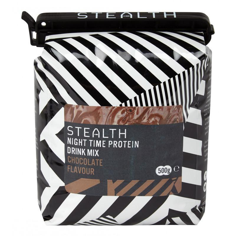 STEALTH Nutrition > Energy Drink Stealth Night Time Protein Powder 500g Chocolate