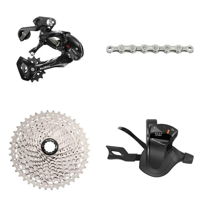 Sunrace Components > Groupsets 10 Speed 11-42T Sunrace 10 SPEED Shift Kit