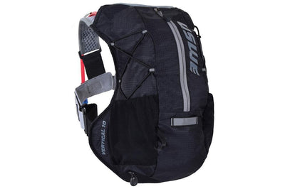 USWE Accessories > Bags & Seatpacks Carbon Black USWE VERTICAL 10 PLUS HYDRATION PACK WITH BLADDER