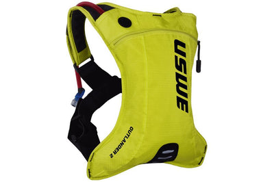 USWE Accessories > Bags & Seatpacks Crazy Yellow USWE OUTLANDER 2 HYDRATION PACK