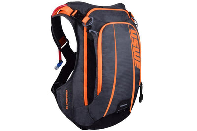 USWE Accessories > Bags & Seatpacks Orange USWE AIRBORNE 15 HYDRATION PACK WITH BLADDER