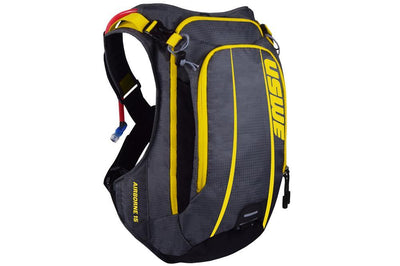 USWE Accessories > Bags & Seatpacks Yellow USWE AIRBORNE 15 HYDRATION PACK WITH BLADDER