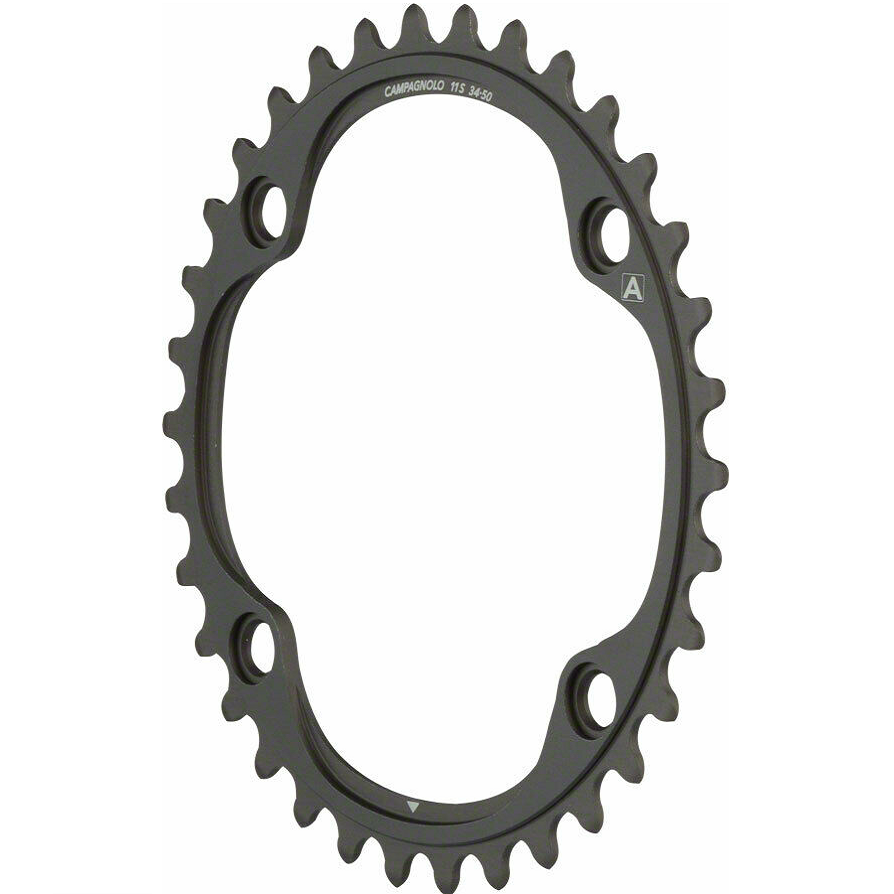 Vanillabikes 36T / Black Campagnolo Potenza 11 Speed 112/145pcd Chainrings