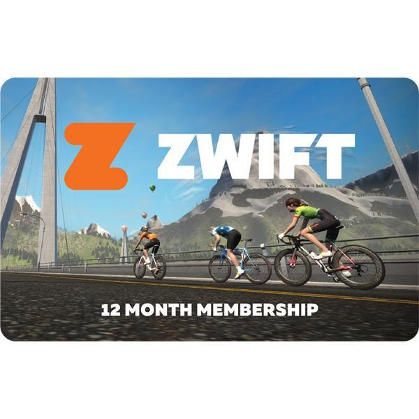 Zwift Accessories > Indoor Trainers Zwift 12 Month Membership Card