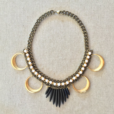 FATIMA necklace | black