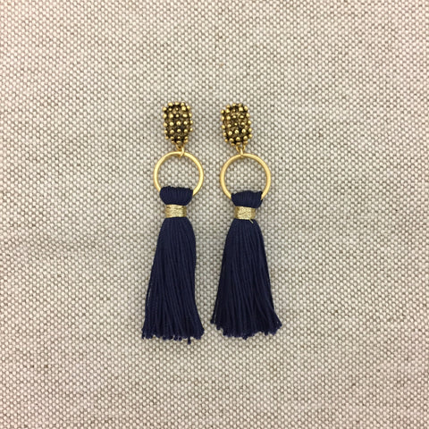 OLYMPIA earrings | navy