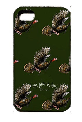iPhone Case - Turkeys in Flight