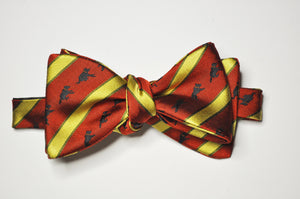 Bow Tie - Flying Wilson (Red/Gold)