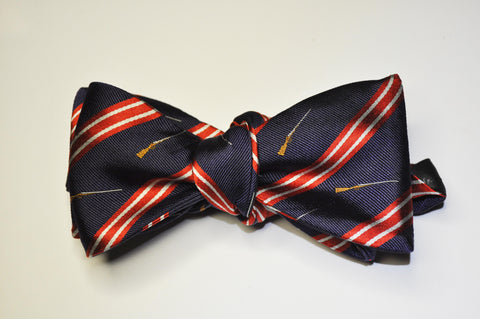 Bow Tie - Side by Side (Blue/Red)