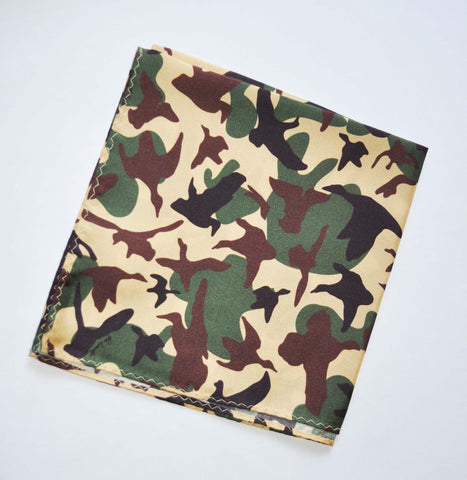 Pocket Square - On the Wing Camo