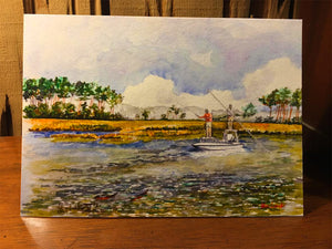 Notecards - Chasing Redfish