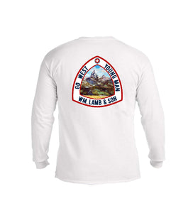 The Go West - Tetons Tee