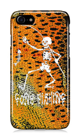 iPhone case - Gone Fishing Psychedelic