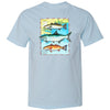 The Grand Slam Tee (Chambray)  - The Coastal Collection